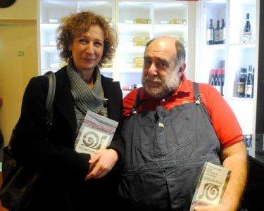 Roberta con lo chef Giorgione