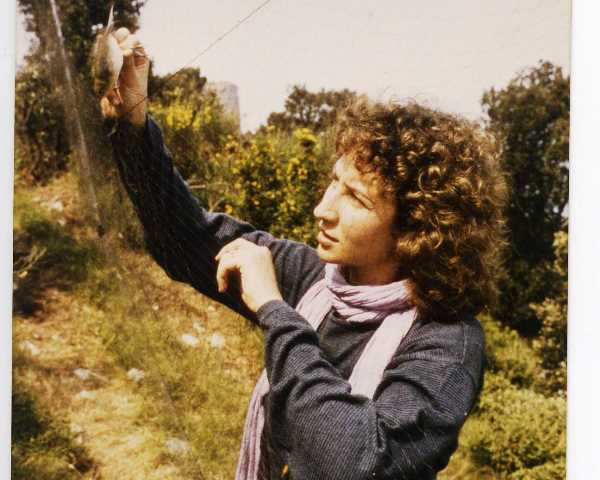 inanellamento - birdwatching- foto storiche