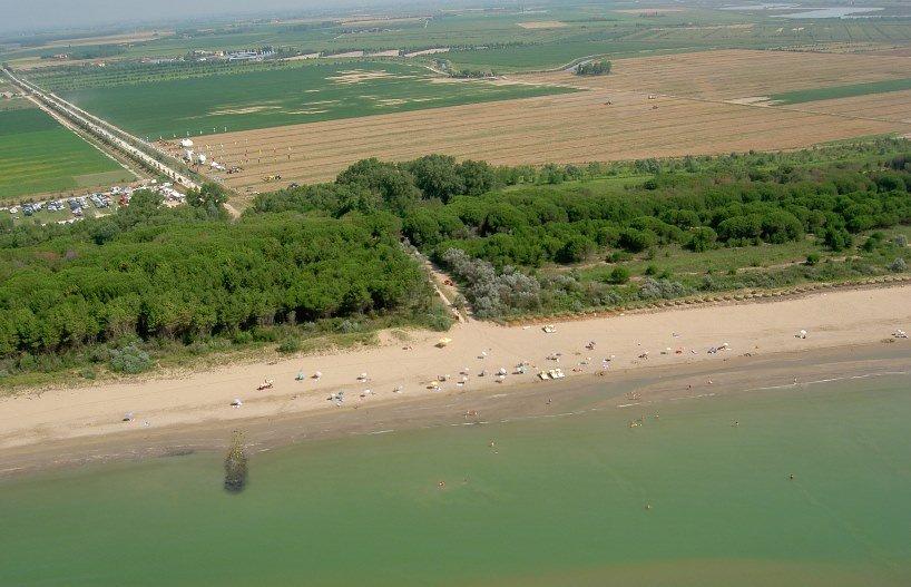 spiaggia vallevecchia - oasi naturale