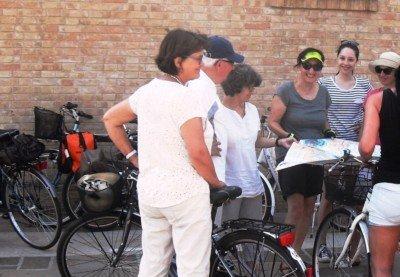 Pausa a Lio Piccolo durante il tour in bici-SLowVenice